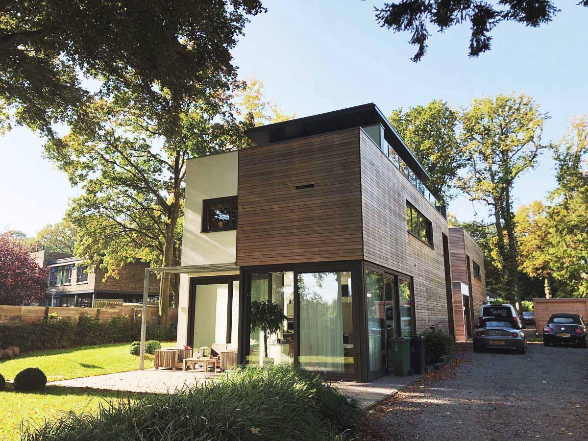 3d schetsen architect luxe woningen architectenbureau for Woningen moderne villa