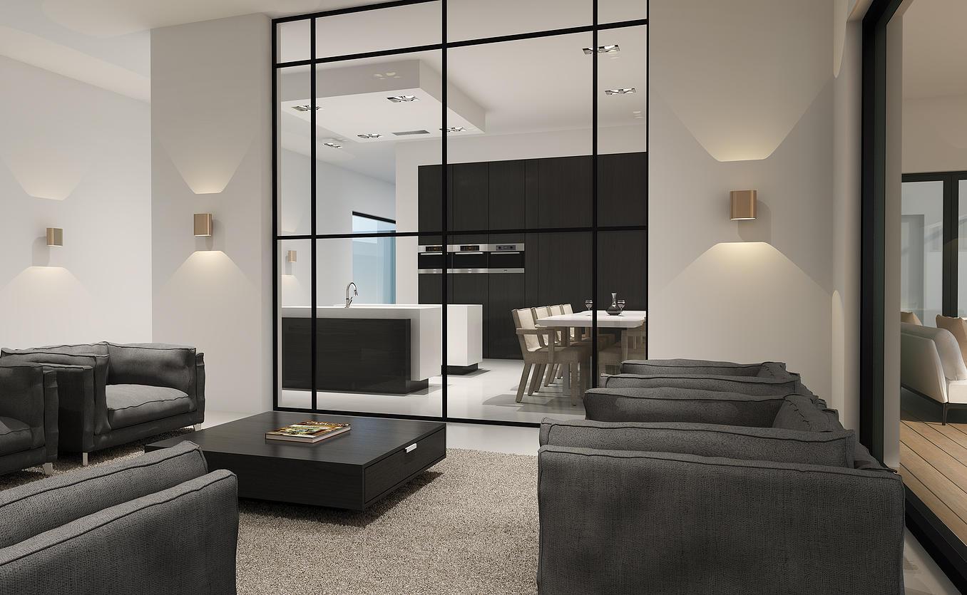 villa en appartementengebouw paramaribo architectenburo. Black Bedroom Furniture Sets. Home Design Ideas